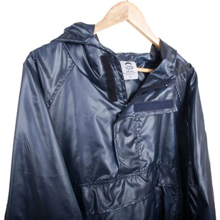 NAVY BLUE RAINCOAT